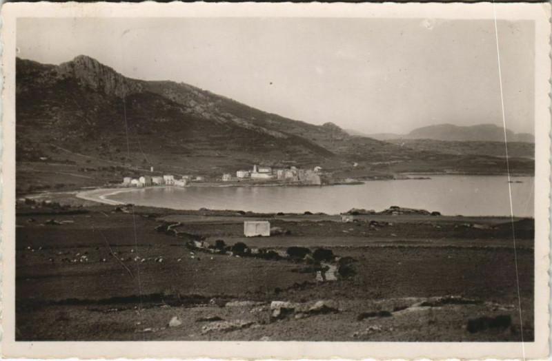 Carte postale ancienne Algajola - Vue Panoramique Corsica - Corse à Algajola
