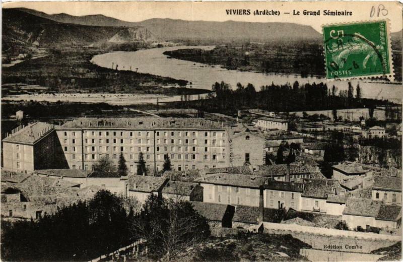 Carte postale ancienne Viviers Le Grand Séminaire à Viviers