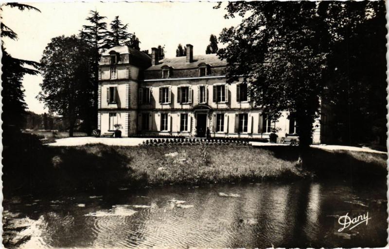 Carte postale ancienne Avensan - Chateau Citran à Avensan