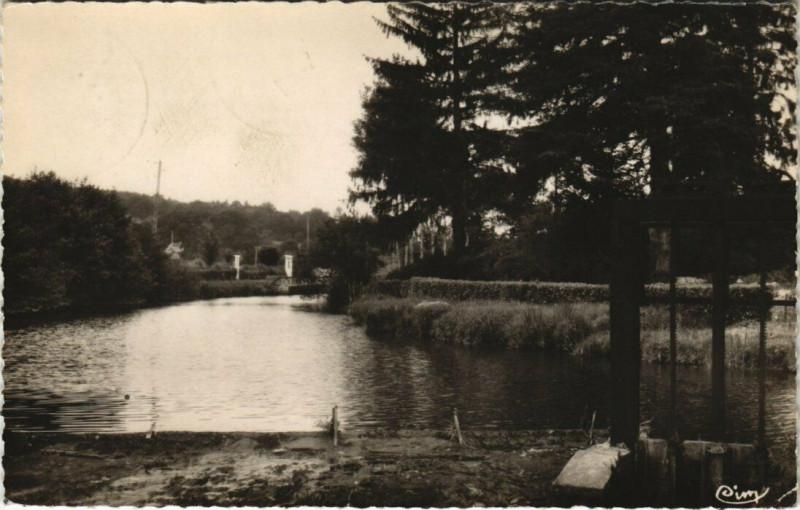 Carte postale ancienne Andouille - Barrage de la Forge à Andouillé