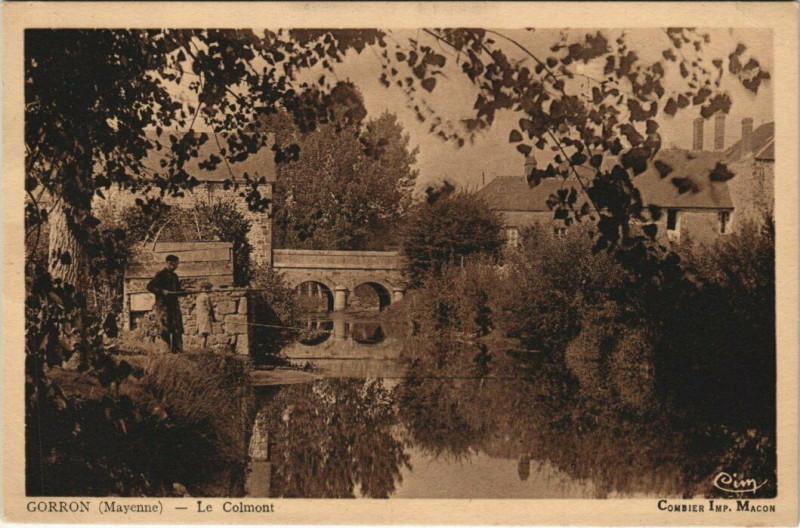 Carte postale ancienne Gorron - Le Colmont à Gorron