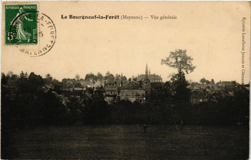 Carte postale ancienne Le Bourgneauf la Feret - Vue generale à Neau