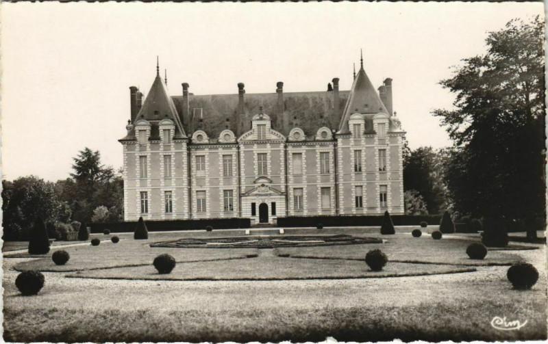 Carte postale ancienne Pressigny Le Porteau - Environs de Thenezay - Chateau du Porteau à Pressigny