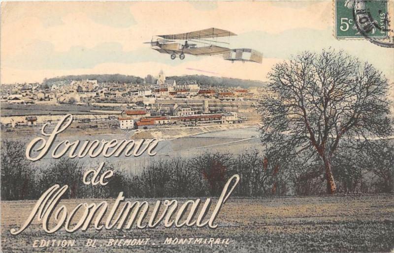 Carte postale ancienne Souvenir de Montmirail à Montmirail