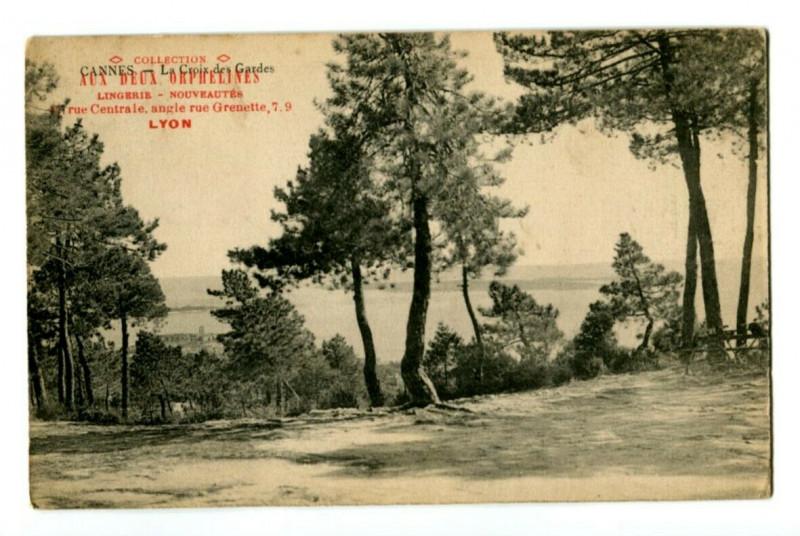 Carte postale ancienne 06 Alpes-maritimes Cannes la croix guards advertising card à Cannes