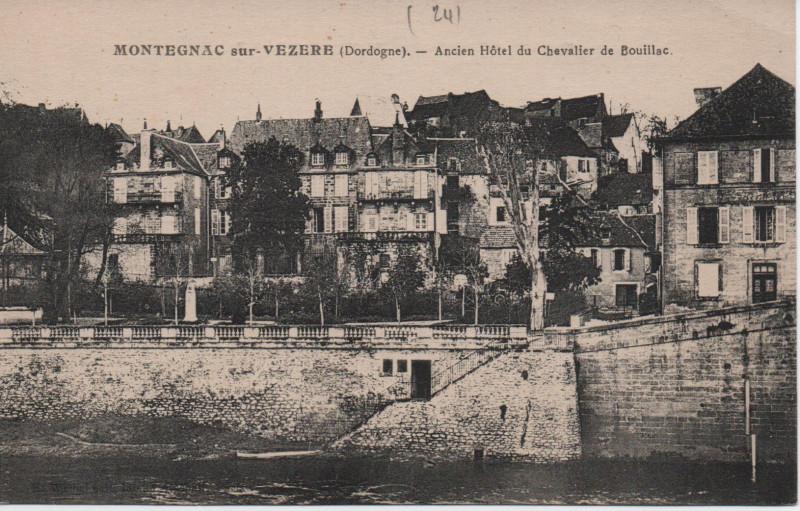 Carte postale ancienne Ancien Hôtel du Chevalier de Bouillac à Montignac