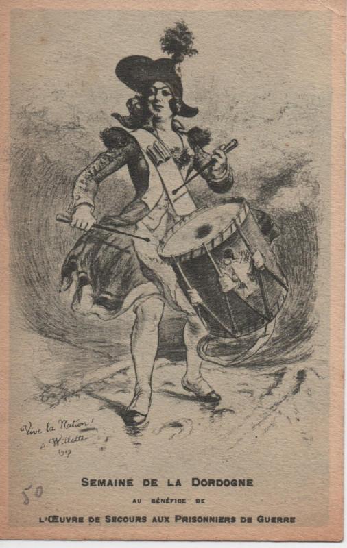 Carte postale ancienne Semaine de la Dordogne