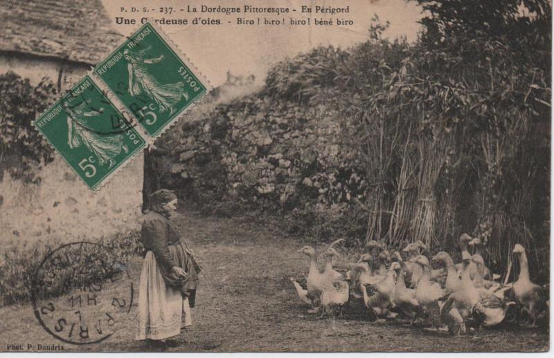 Carte postale ancienne La dordogne pittoresque à Thenon